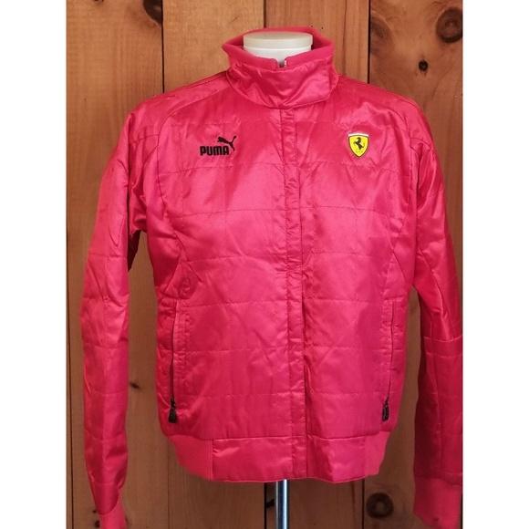 c25fd5f41803 Ferrari Puma Women s Zip Up Jacket Size Medium